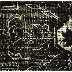 Anice Black Hand Knotted Oriental Style 6 X9 Rug