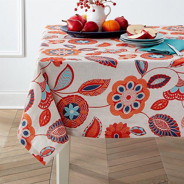 Anju 60quot Square Tablecloth Crate and Barrel : anju linen tablecloth from www.crateandbarrel.com size 625 x 625 jpeg 118kB