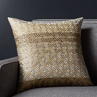 """Annette 18"""" Pillow with Down-Alternative Insert"""