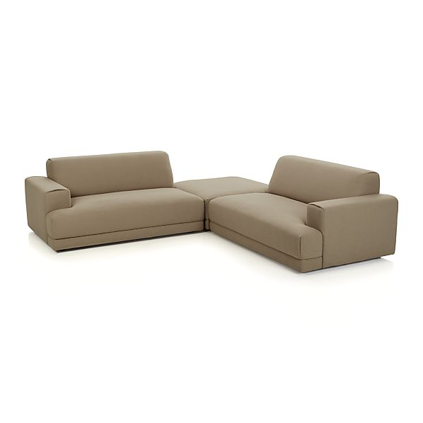Annexe 3-Piece Sectional Sofa