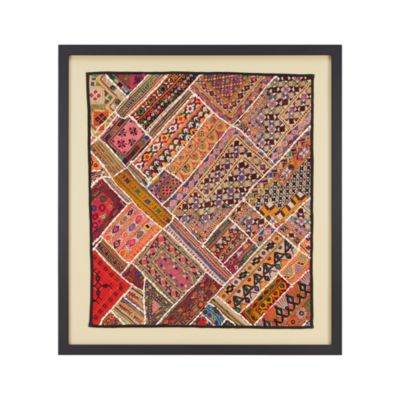 Antique Cloth Wall Art