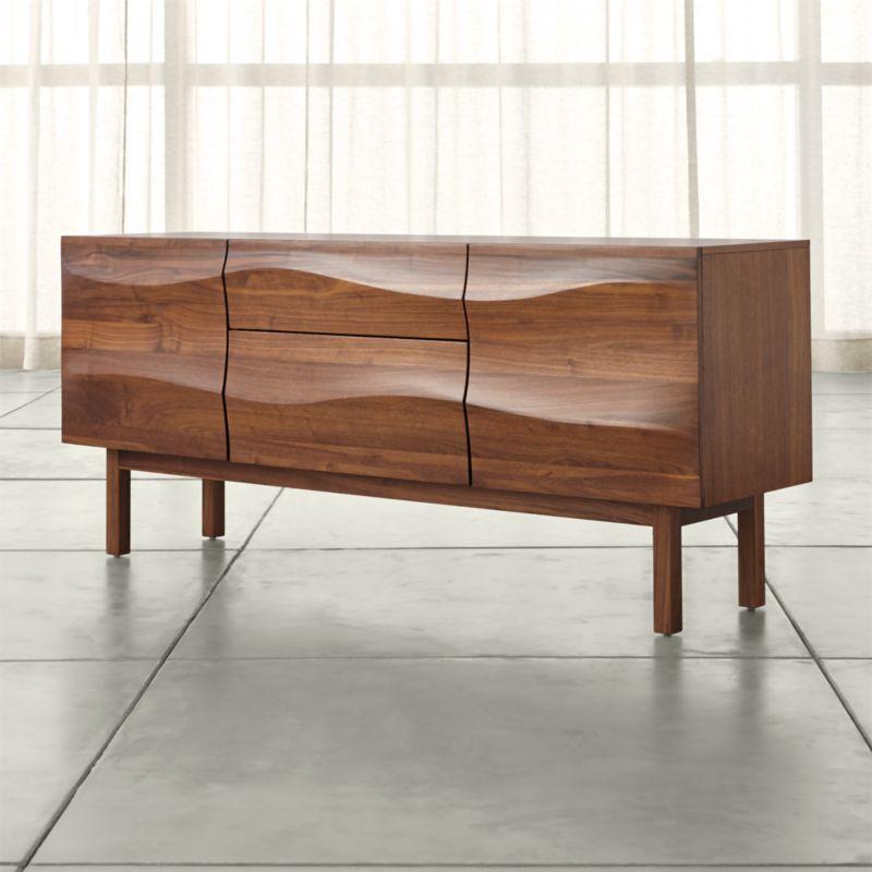 Apex Walnut Sideboard