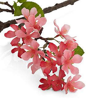 Bouquet a bunch or spike some pink into a floral arrangement with our faux apple blossom stem. Each realistic stem captures the color and likeness of a just-cut branch, preserving its springtime color for years to come.