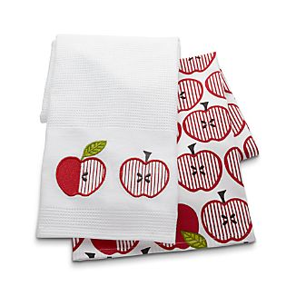 Apple Dish Towels Set of Two