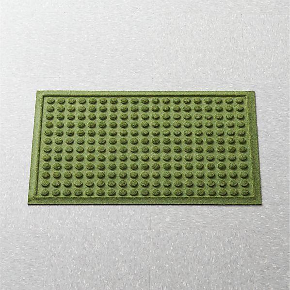 Thirsty Dots ™ Green Apartment Floor Mat