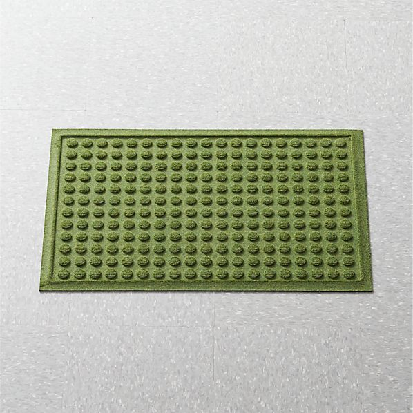 Thirsty Dots ™ Green Apartment Floor Mat