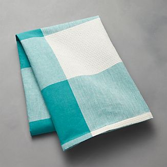 Aqua Check Dish Towel