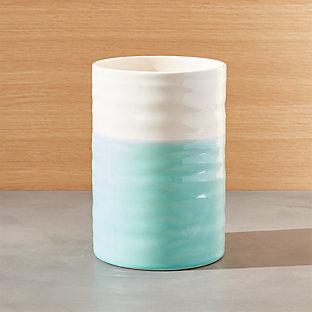 Aqua Dip Medium Canister Crate And Barrel