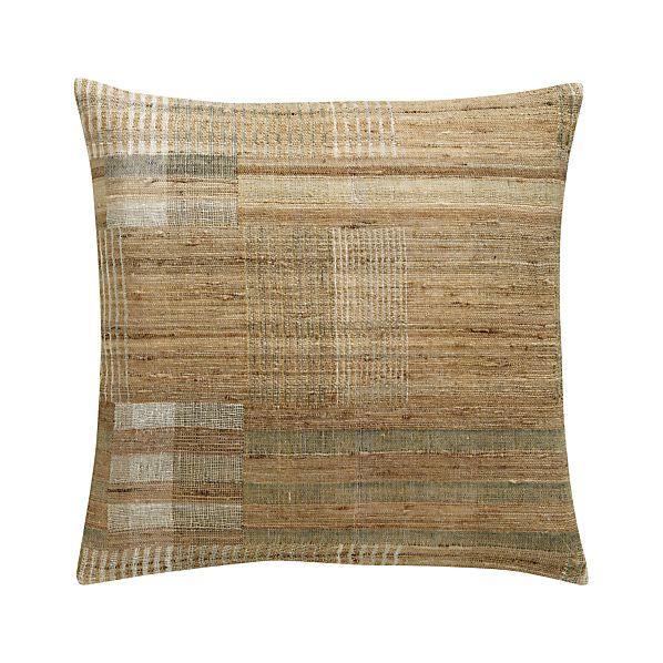 "Arabia 20"" Pillow with Down-Alternative Insert"