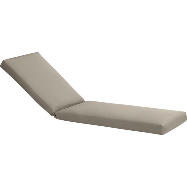 Arbor Sunbrella ® Stone Chaise Lounge Cushion