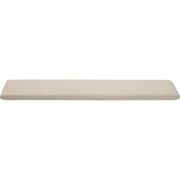 Arbor Sunbrella ® Stone Dining Bench Cushion
