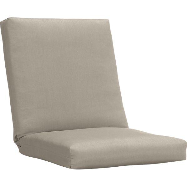Arbor Sunbrella ® Stone Lounge Chair Cushion