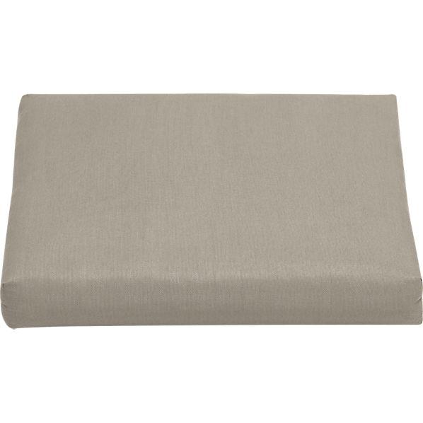 Arbor Sunbrella ® Stone Ottoman Cushion