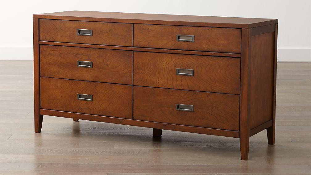Arch Tea 6-Drawer Dresser