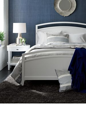 Arch White Bed