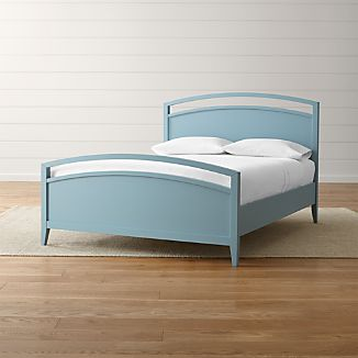 Arch Blue Full Bed