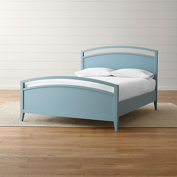 Arch Blue Bed