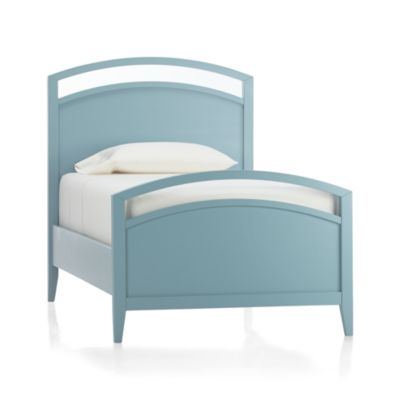 Arch Blue Twin Bed