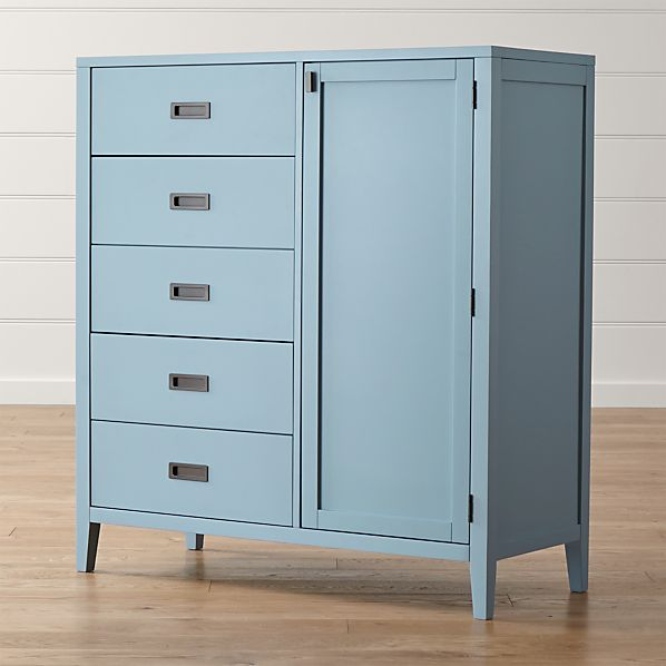 Arch Blue Wardrobe