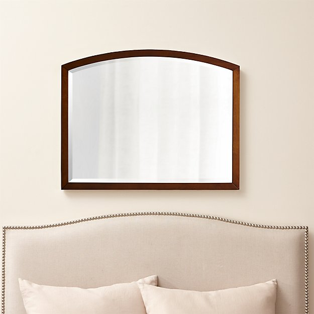 Arch tea wall mirror crate and barrel for Crate and barrel arch