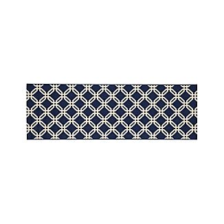 Arlo Blue Indoor/Outdoor 2.5'x8' Rug Runner