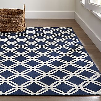 Arlo Blue Indoor/Outdoor Rug