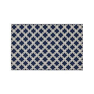 Arlo Blue Indoor/Outdoor 6'x9' Rug