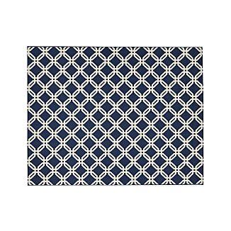 Arlo Blue Indoor/Outdoor 8'x10' Rug
