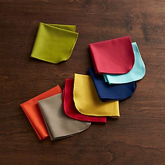 Set of 8 Array Cocktail Napkins