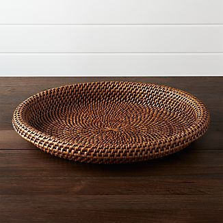 Artesia Rattan Serving Tray
