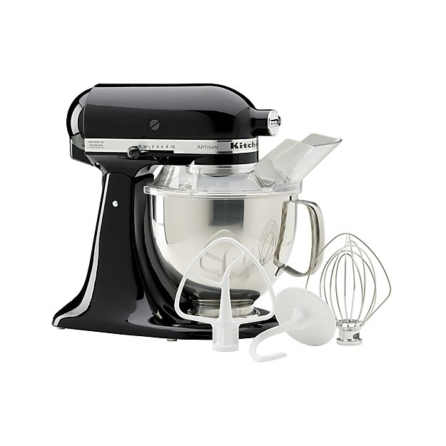 KitchenAid ® Artisan Onyx Black Stand Mixer | Crate and Barrel