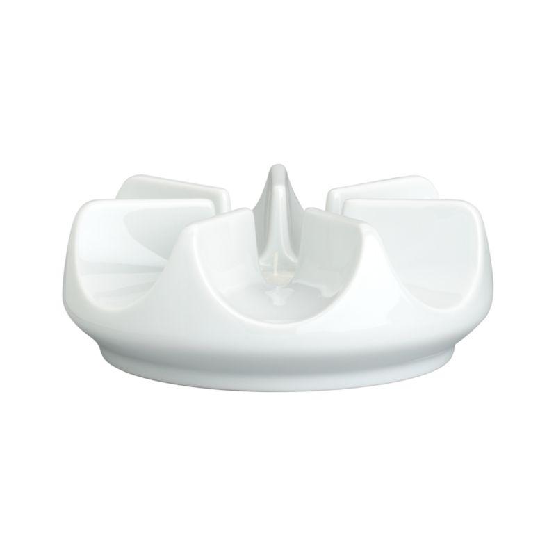 Perfect proportions, beautiful central shape, exquisite white porcelain.<br /><br /><NEWTAG/><ul><li>Pure porcelain</li><li>Warmer uses one tealight to keep beverages warm for hours, sold separately</li><li>Dishwasher- and microwave-safe</li><li>Made in Germany</li></ul><br /><br />