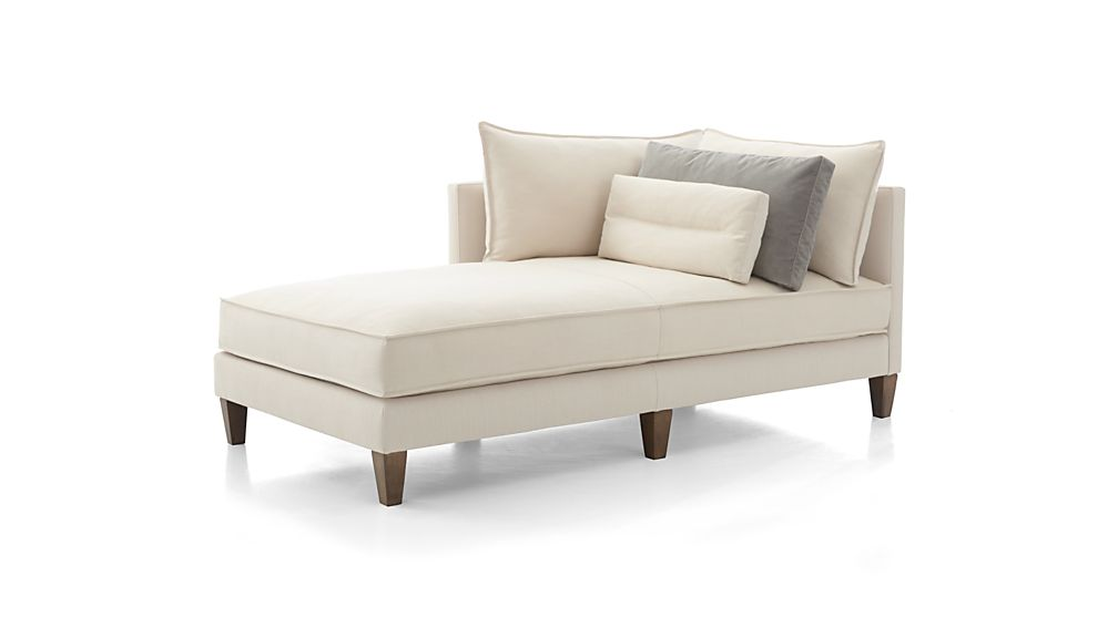 Asana Left Arm Chaise Lounge