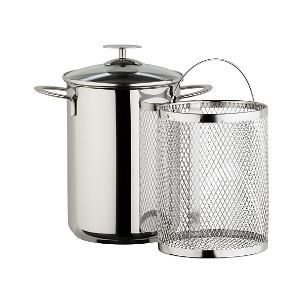 Stainless Asparagus Steamer by Berndes for Crate and Barrel