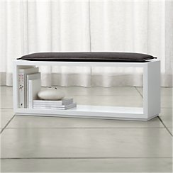 "Aspect 47.5"" Open Bench with Cushion"