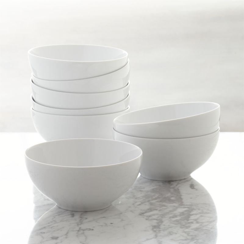 Set Of 8 Aspen Bowls Crate And Barrel