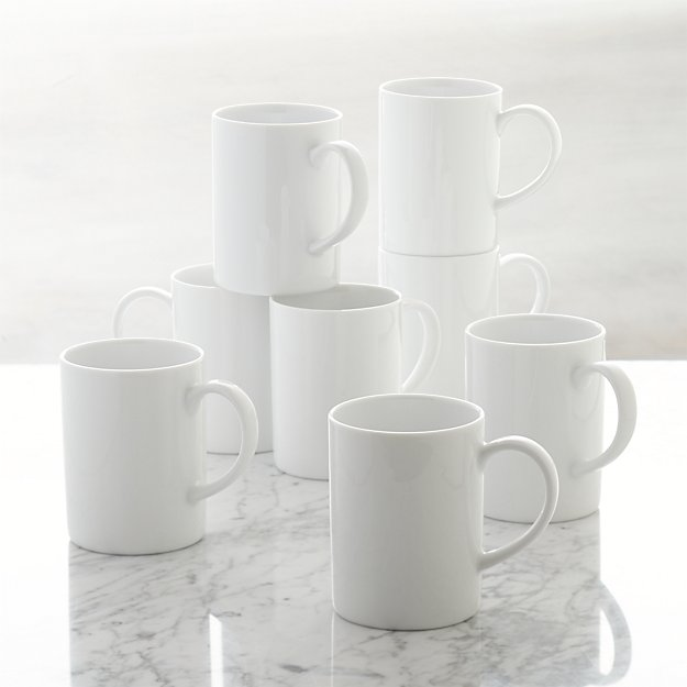 Set of 8 Aspen Mugs