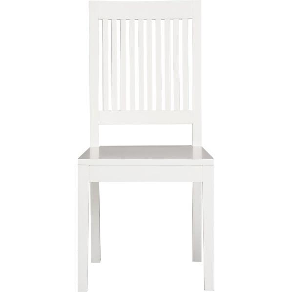 Aspen White Side Chair