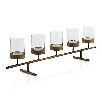 Asta Brass Tea Light Centerpiece