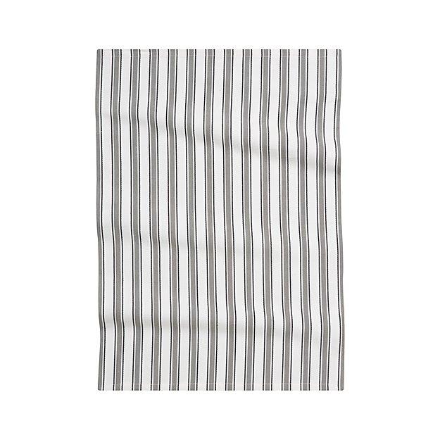 Aster stripe dishtowel