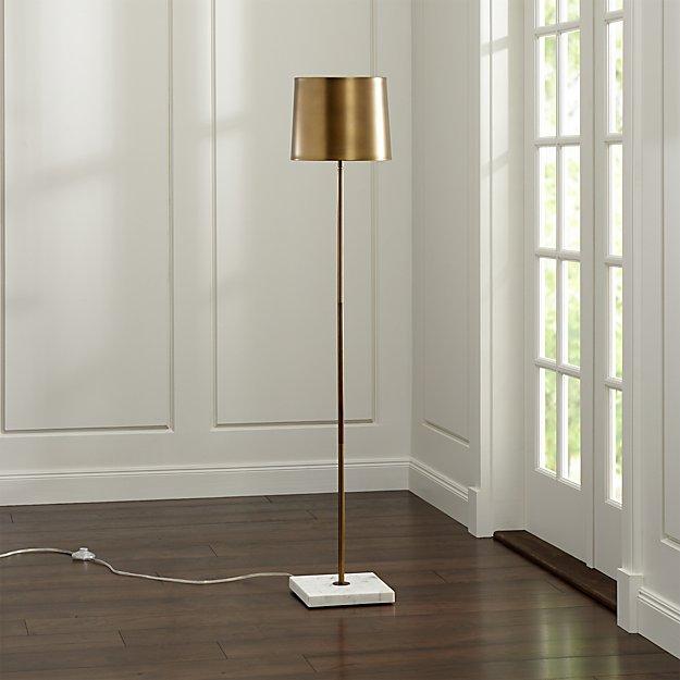 Astor Floor Lamp Crate And Barrel