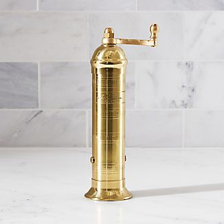 Atlas Brass Pepper Mill