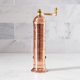 Atlas Solid Copper Pepper Mill