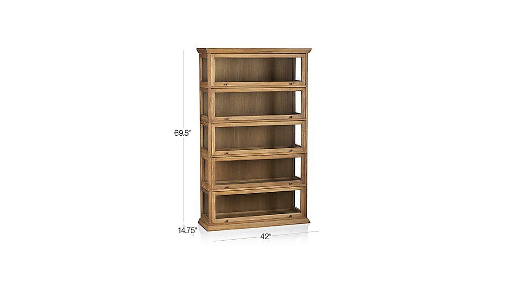 Atticus 5 Piece Barrister Bookcase Crate And Barrel