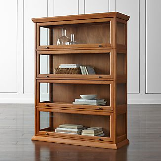 Atticus 4-Piece Barrister Bookcase