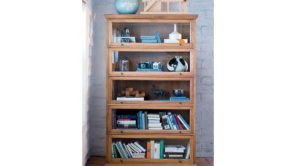 Atticus 5-Piece Barrister Bookcase