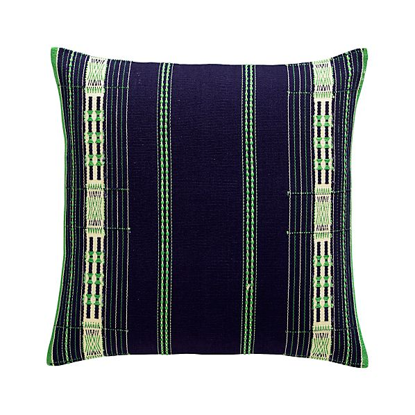 "Atun 18"" Pillow with Feather-Down Insert"