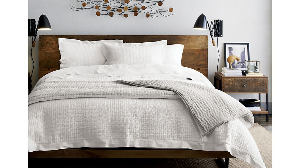 Crate And Barrel Atwood King Bed