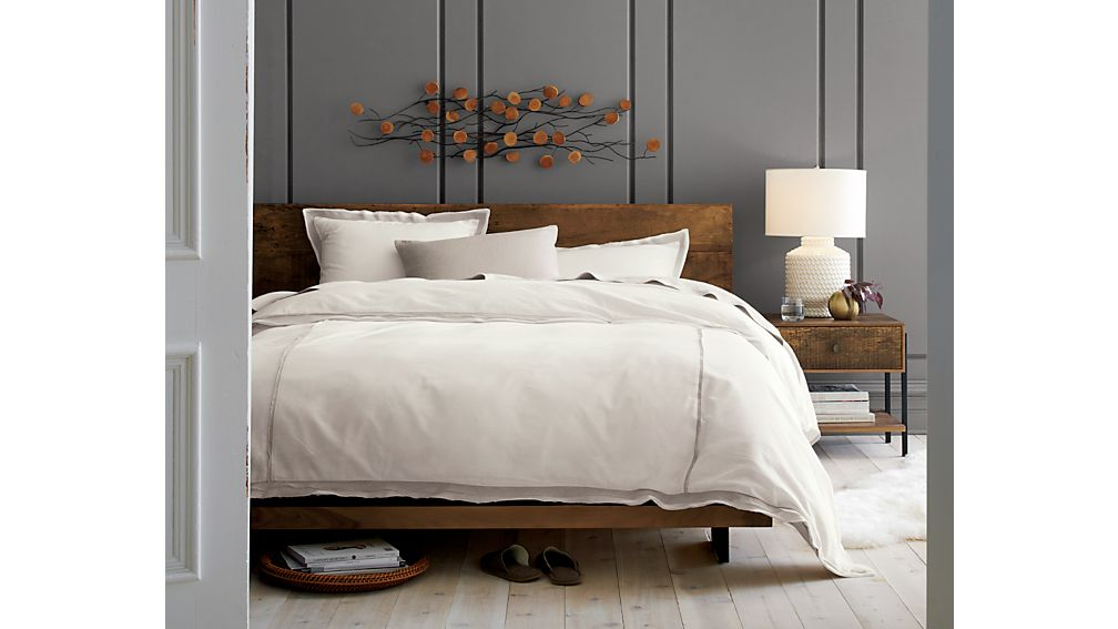 Atwood King Bed without Bookcase Footboard