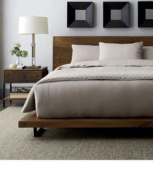 Atwood Bed without Bookcase Footboard